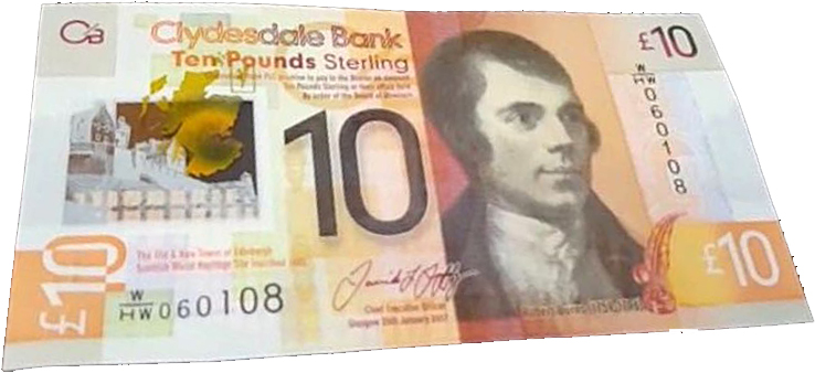 New Scottish £10 note