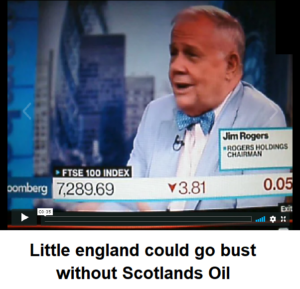 england could go bust without Scotland's oil