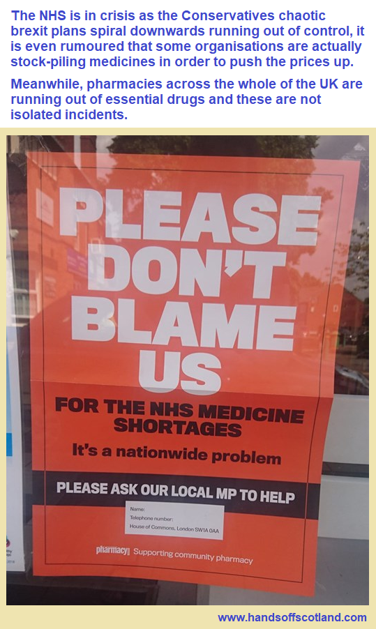 NHS Drugs Crisis